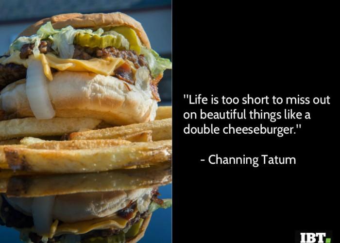 National Cheeseburger Day 2018 quotes