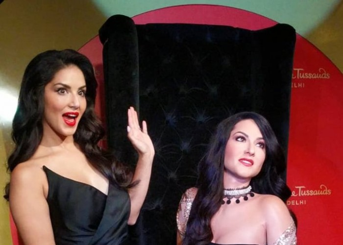 Sunny Leone unveils her wax statue