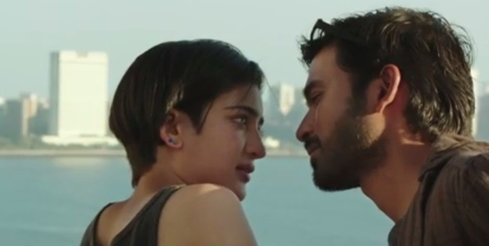 Dhanush and Akshara Haasan in