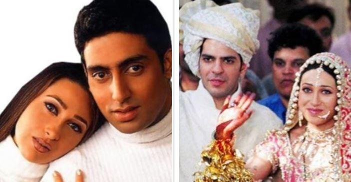 Karisma Kapoor, Abhishek Bachchan, Sanjay Kapur