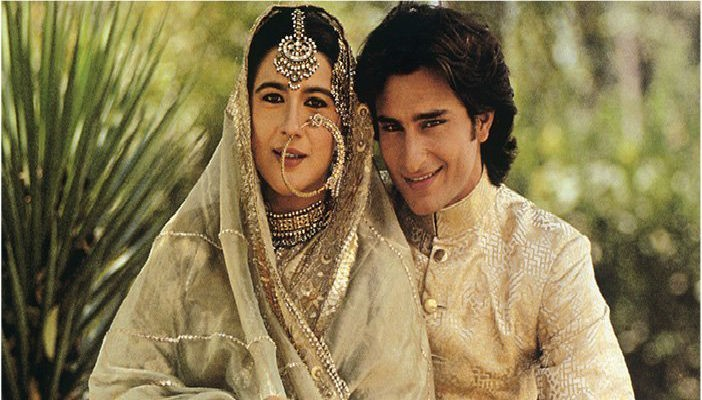 Saif Ali Khan and Amrita Singh old photo