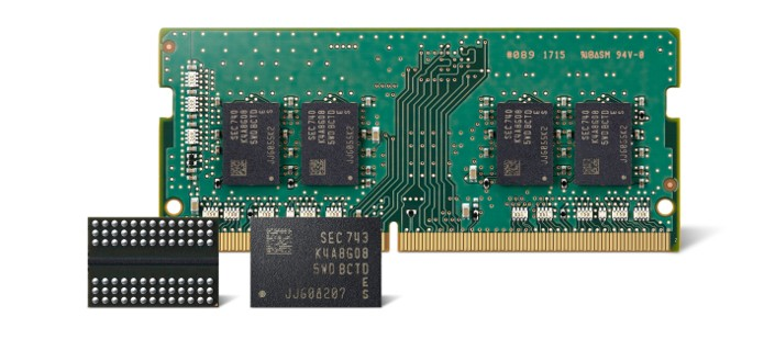 Samsung DRAM Chip