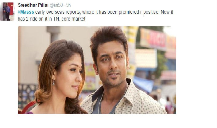 Masss,Masss review,Masss movie review,Massu Engira Masilamani,Massu Engira Masilamani review,Massu Engira Masilamani movie review,Suriya and Nayantara,Suriya's masss movie review,Suriya,Nayantara