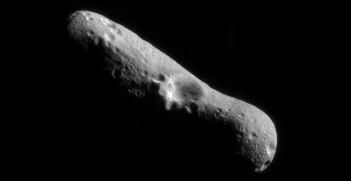 Asteroid (representational image), photo credit: NASA