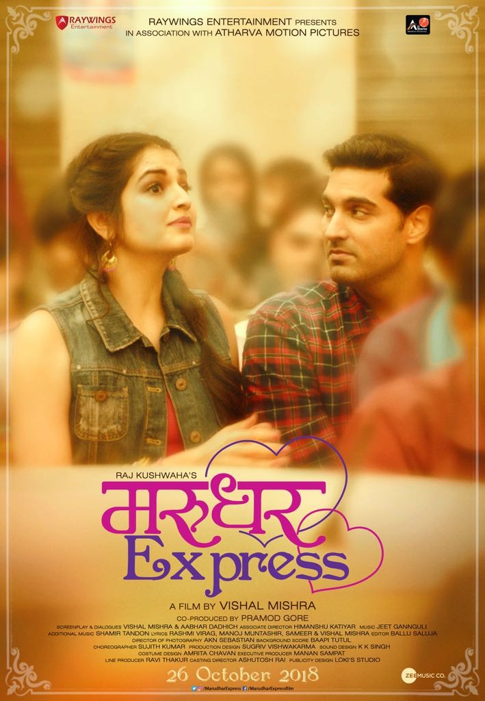 Kunaal Roy Kapur and Tara Alisha Berry,Kunaal Roy Kapur,Tara Alisha Berry,Marudhar Express,Marudhar Express first look,Marudhar Express first look poster,Marudhar Express poster,Marudhar Express movie poster,Marudhar Express pics,Marudhar Express images,M