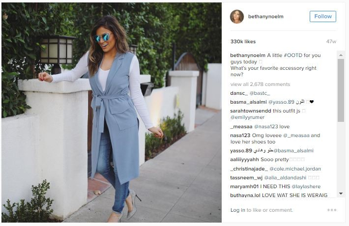Deepika Padukone,Shay Mitchell,singer Victoria Justice,Bella Thorne,Kate Clapp,YouTube-famous,Bethany Mota,OOTD posts 2016,OOTD posts