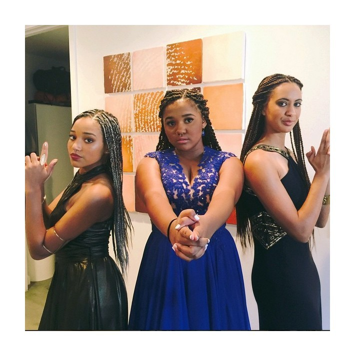 Charlies Angels at Amandla Stenberg's prom