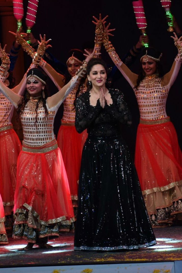 Madhuri Dixit,Sidharth Malhotra,Kriti Sanon,Mumbai T20 League opening ceremony,Mumbai T20 league,Mumbai T20 league pics,celebs at Mumbai T20 league,Mumbai T20 league images