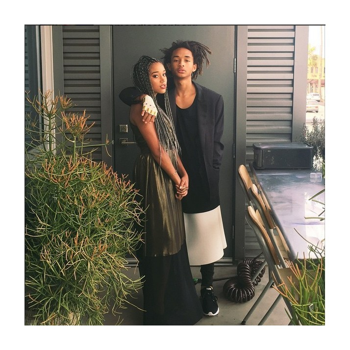 Amandla Stenberg and Jadem Smith