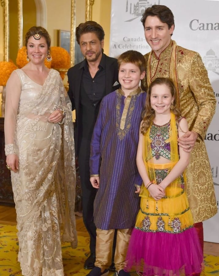 Canadian Prime Minister,Justin Trudeau,Justin Trudeau in India,Shah Rukh,Aamir Khan,R. Madhavan,Justin Trudeau meets Shah Rukh Khan,Justin Trudeau meets Aamir Khan