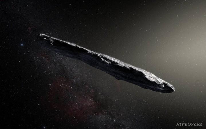Oumuamua, asteroid, rymdrock,