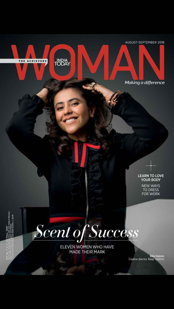 Ekta Kapoor,actress Ekta Kapoor,Ekta Kapoor on India Today magazine,India Today magazine