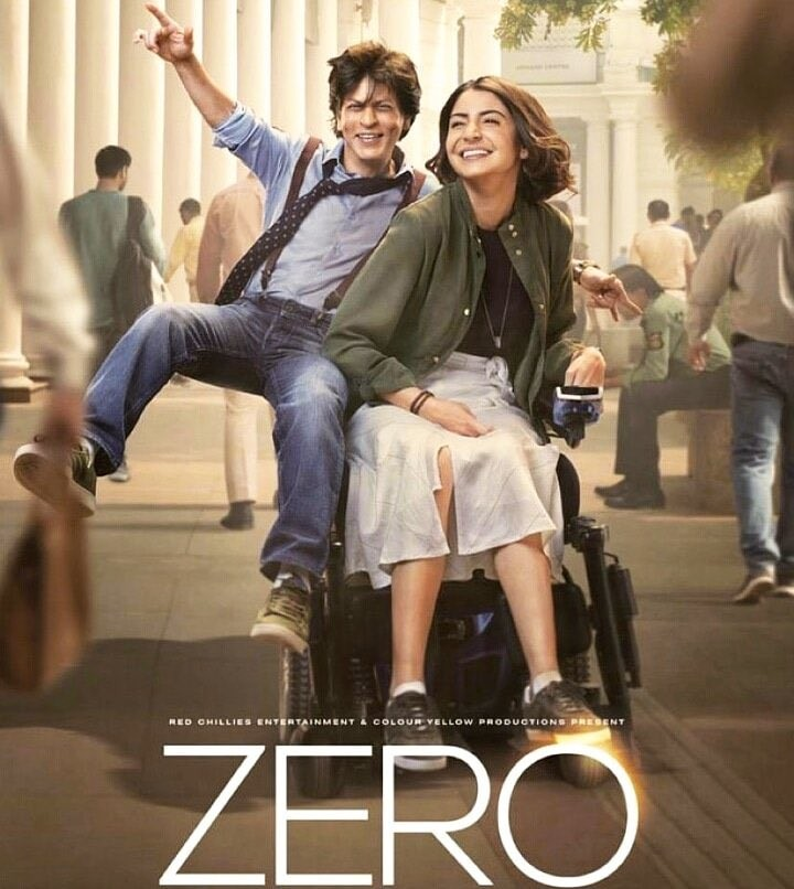 Zero,Zero poster,Zero movie poster,Shah Rukh Khan,Katrina Kaif,Anushka Sharma,Shah Rukh Khan and Anushka Sharma,Shah Rukh Khan and Katrina Kaif,Zero first look,Zero first look poster