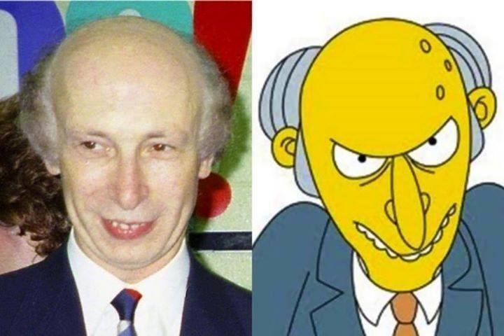 Ordinary People Who Look like celebs,people who look similar to cartoon figures,cartoon figures,cartoon look-alikes