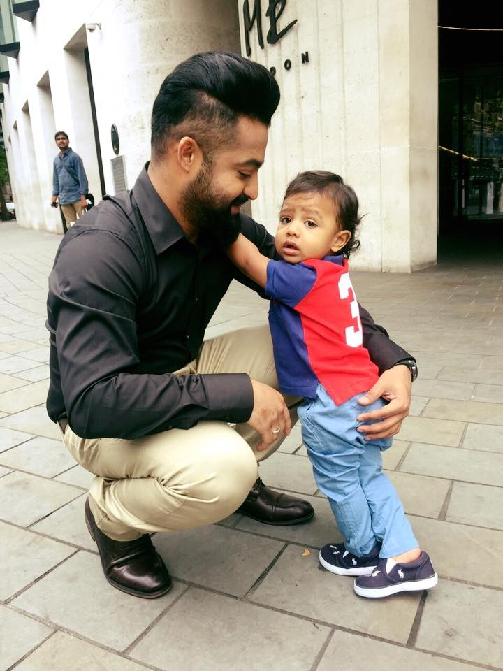 Jr NTR,Jr NTR son birthday,Jr NTR son Abhay ram birthday,Abhay ram birthday celebration,Telugu news,Jr NTR with son photos,Abhay Ram photos