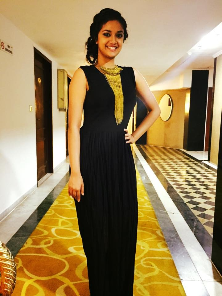 Keerthy Suresh,Keerthy Suresh latest,Vijay television awards,vijay television awards 2015,celebs at Vijay Television Awards,Keerthy suresh at Vijay Television Awards