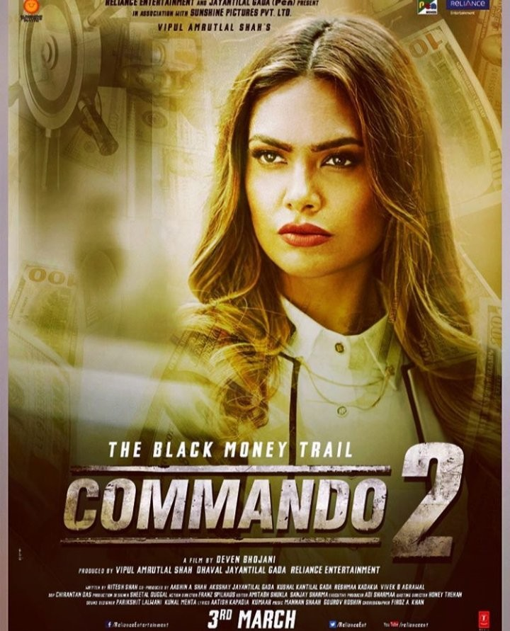 Commando 2,Commando 2 poster,Commando 2 movie poster,Vidyut Jamwal,Adah Sharma,bollywood movie  Commando 2,Commando 2 movie pics,Commando 2 movie images,Commando 2 movie photos,Commando 2 movie stills,Commando 2 movie pictures
