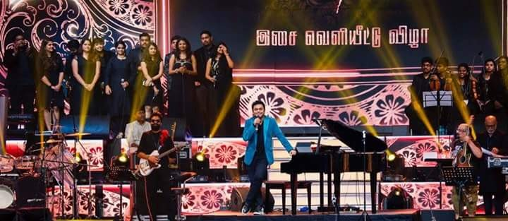 A.R. Rahman,A.R. Rahman performs,A.R. Rahman performs at Mersal,A.R. Rahman performs at Mersal audio launch,Mersal audio launch,A.R. Rahman at Mersal audio launch