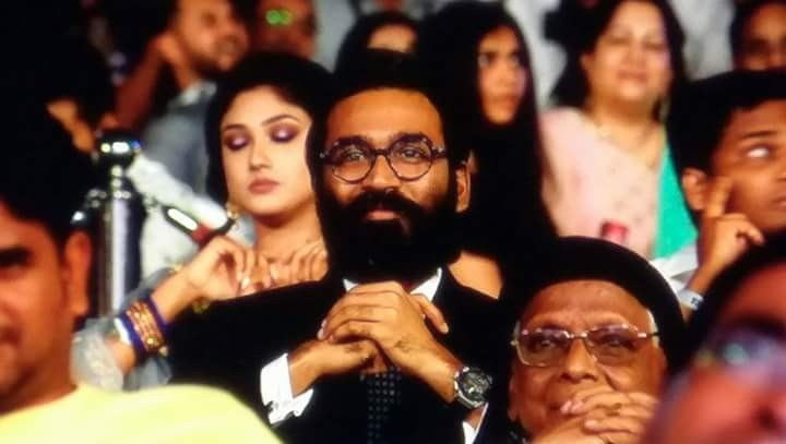Dhanush,Rana Daggubati,RJ Balaji,2.0 audio launch,2.0 music launch