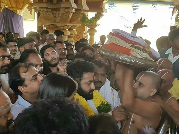 Jr NTR,Jr NTR visits Bhadrachalam,Bhadrachalam Temple,#NTRAtBhadrachalam,NTR at Bhadrachalam,Jr NTR new pics,Jr NTR new images,Jr NTR new pictures,Jr NTR new photos