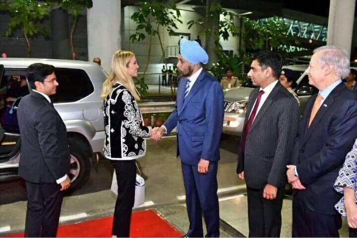 Donald Trump,Donald Trump daughter,Ivanka Trump,Ivanka Trump in India,Ivanka Trump in Hyderabad,Ivanka arrives in Hyderabad,Global Entrepreneurship Summit,GES