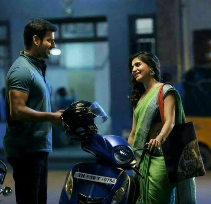 Vishal,Samantha Akkineni,Vishal and Samantha,Samantha Ruth Prabhu,Samantha,Irumbu Thirai,Irumbu Thirai Movie Stills,Irumbu Thirai Movie pics,Irumbu Thirai Movie images,Irumbu Thirai Movie pictures,Irumbu Thirai Movie photos