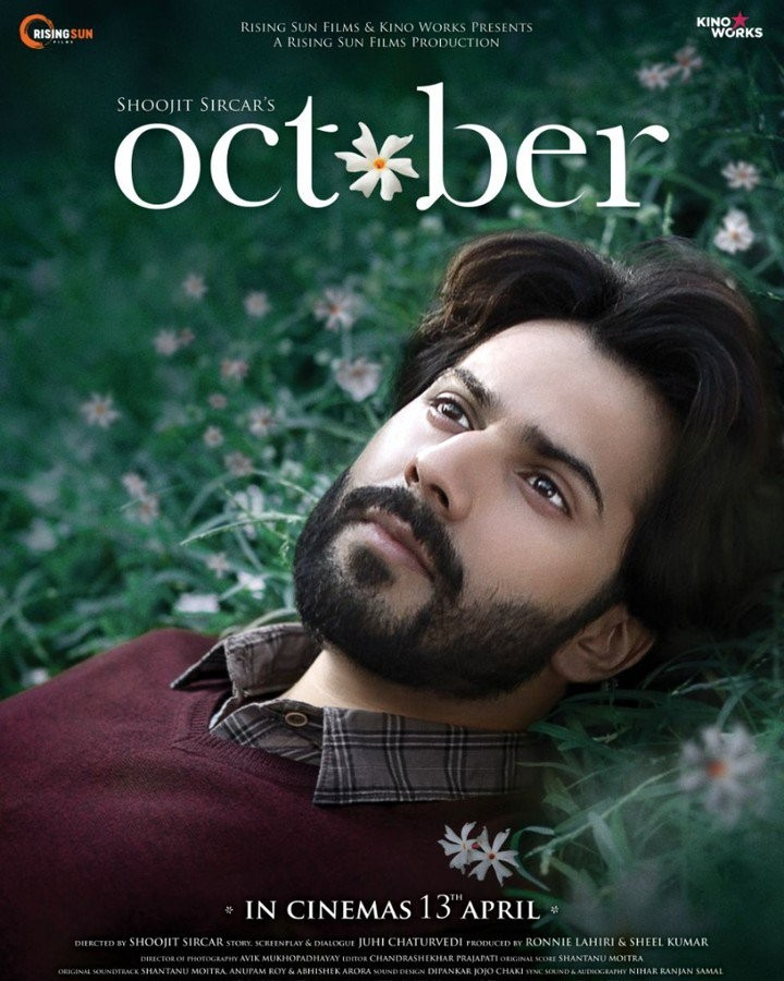Varun Dhawan,actor Varun Dhawan,October first look poster,October first look,October poster,October movie poster,October pics,October wallpaper