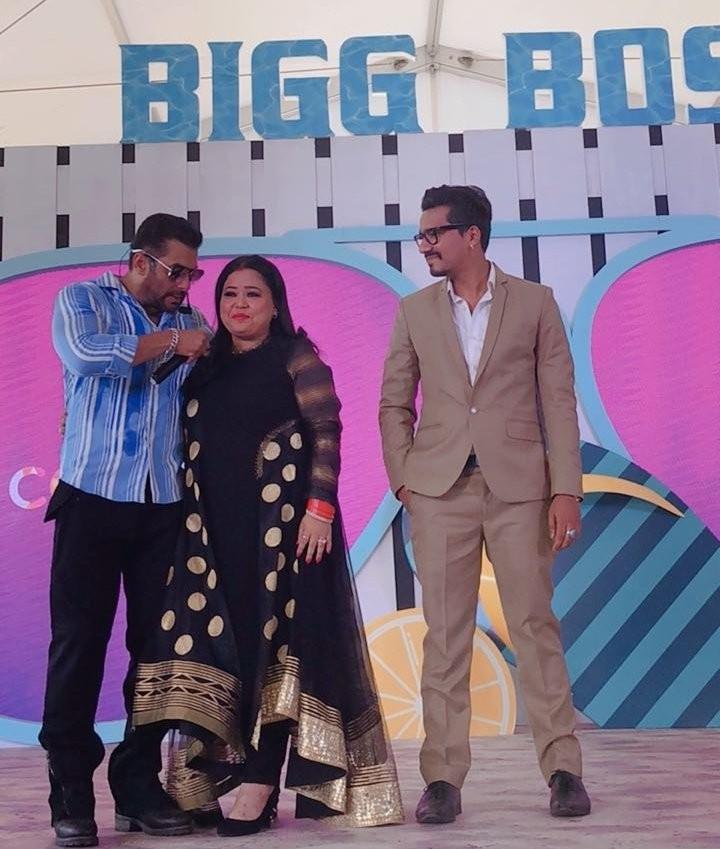 Comedian Bharti Singh,Bharti Singh,Bharti Singh and Haarsh Limbachiyaa,Haarsh Limbachiyaa,Salman Khan,Bigg Boss 12,Bigg Boss 12 final contestants,Bigg Boss 12 contestants,Bigg Boss 12 contestants pics,Bigg Boss 12 contestants images,Bigg Boss 12 contestan