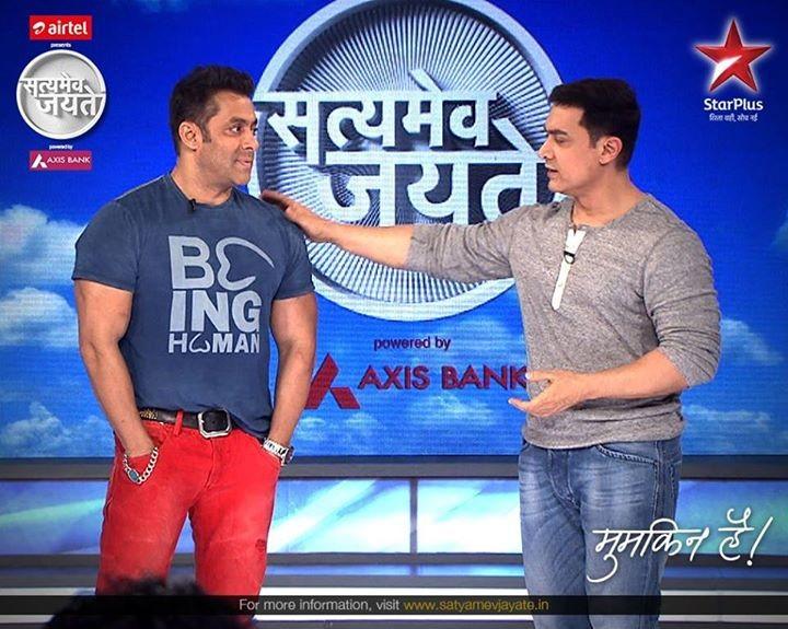 'Satyamev Jayate 3' Has Better TRP Ratings than 'Bigg Boss 8': Aamir Khan Beats Salman