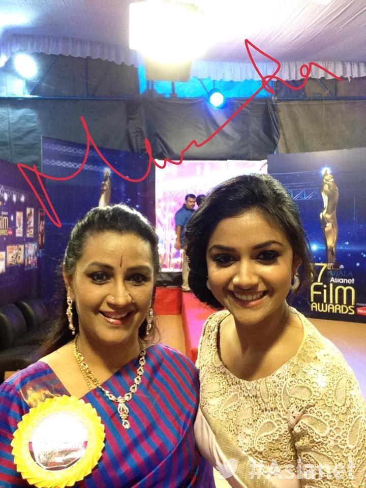 Menaka and Keerthy Suresh