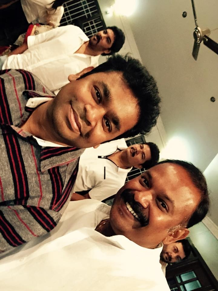 AR Rahman and Venkat Prabhu