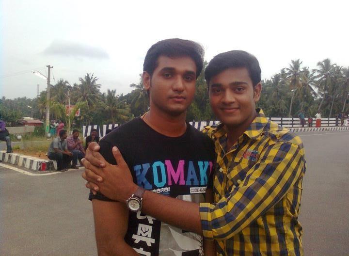 Sarath Kumar with his 'Autograph' co-star