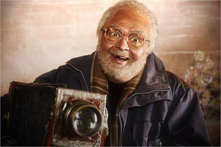 Rishi Kapoor's first look in Sanam Re