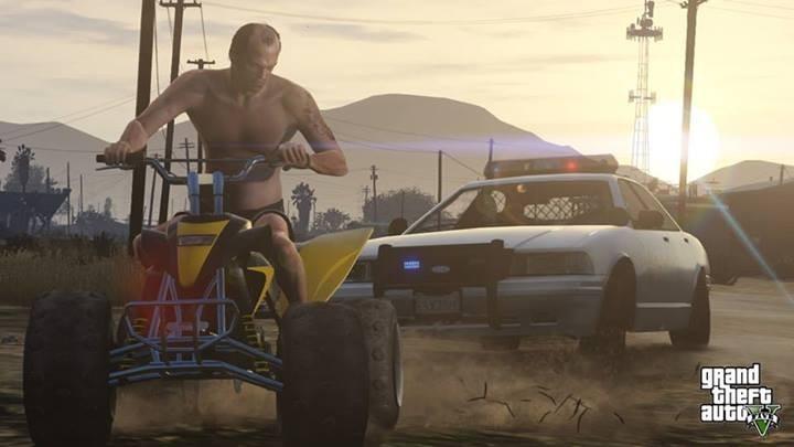 GTA 5: 'Skyfall' Train Scene Recreated In-Game