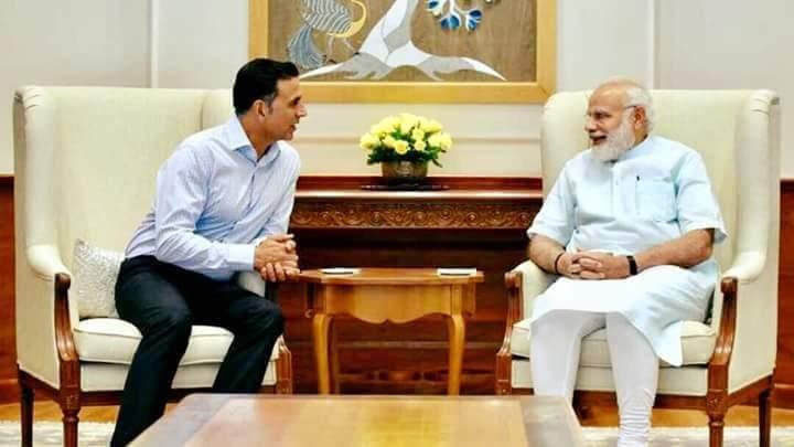 Akshay Kumar and Narendra Modi