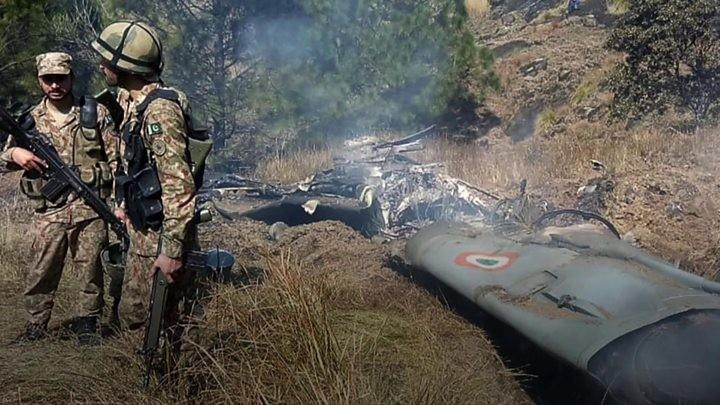 MiG-21 wreckage
