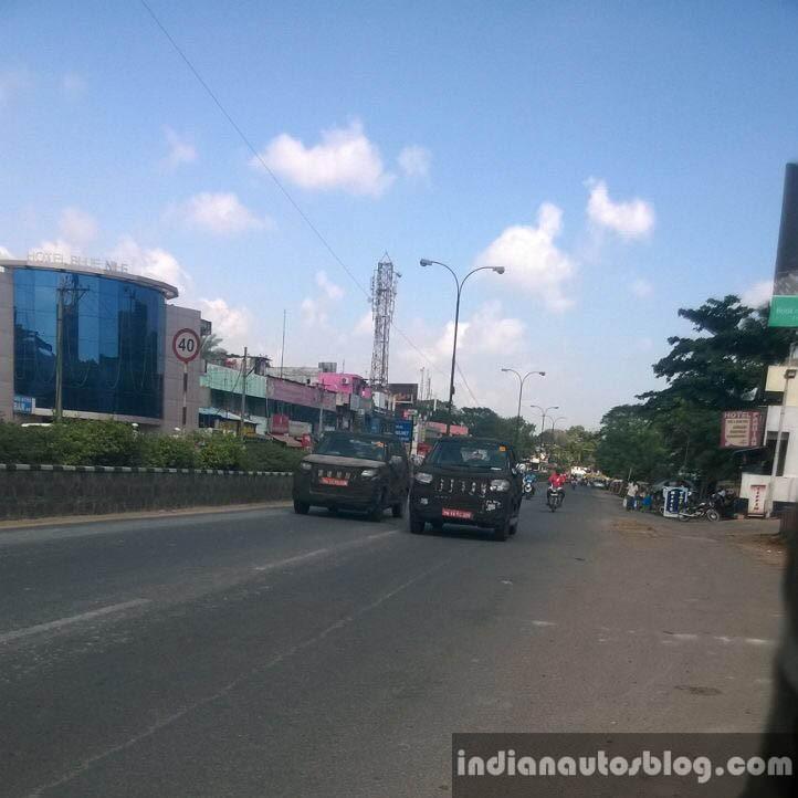 Mahindra New Gen Bolero Caught Testing
