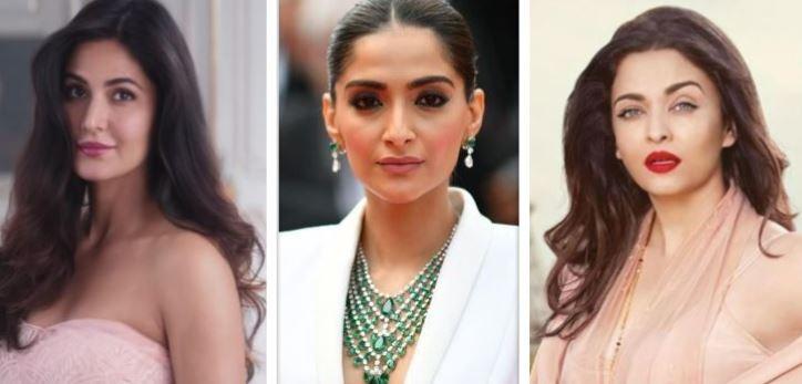 Katrina Kaif, Sonam Kapoor, Aishwarya Rai