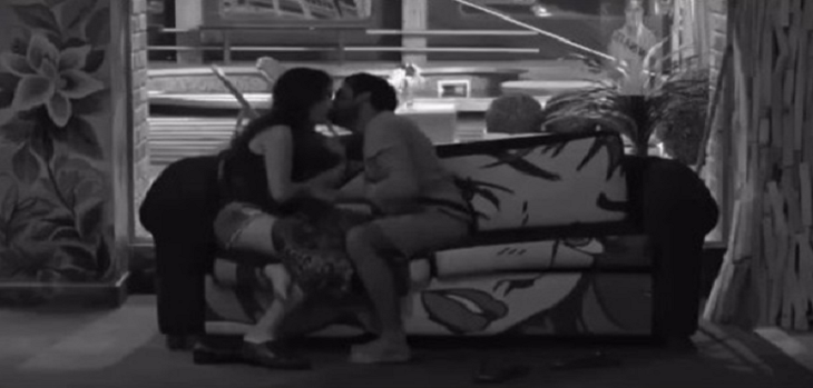 Bandgi Kalra and Puneesh Sharma's intimate moments in the Bigg Boss 11 house