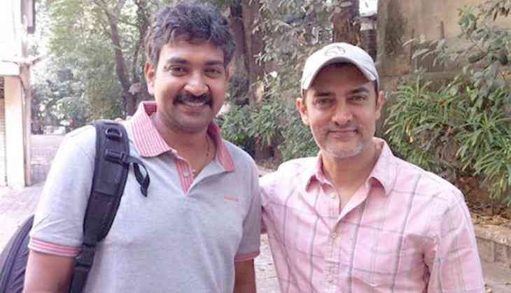 Aamir Khan with SS Rajamouli