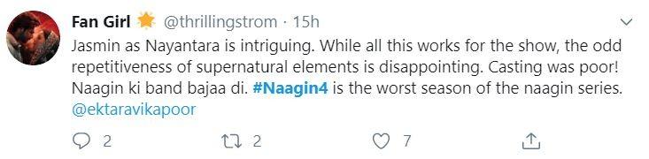 Naagin 4 twitter reactions