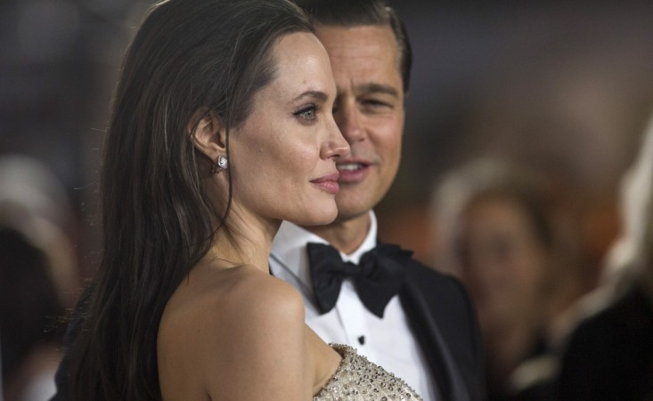 Brad Pitt and Angelina Jolie in 2015