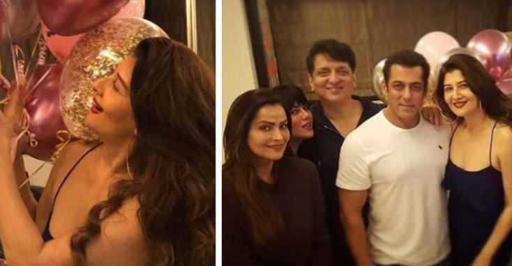 Salman Khan, Sangeeta Bijlani, Iulia Vantur