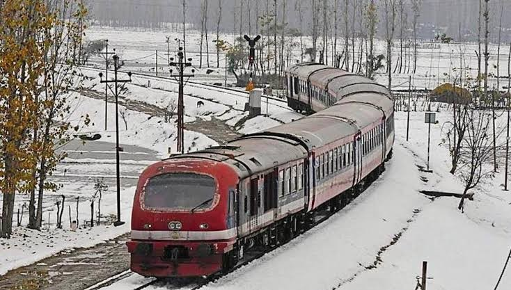 Kashmir Train service