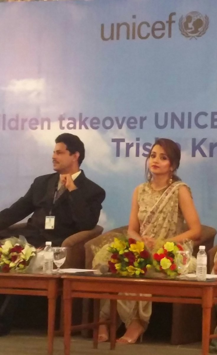 Trisha Krishnan,actress Trisha Krishnan,Trisha Krishnan at World Children's day,World Children's day event,World Children's day,Trisha Krishnan new pics,Trisha Krishnan new images,Trisha Krishnan new stills,Trisha Krishnan new pictures,Tris