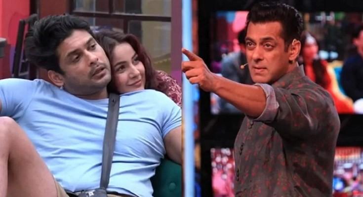 Salman Khan annoyed at Sidharth Shukla