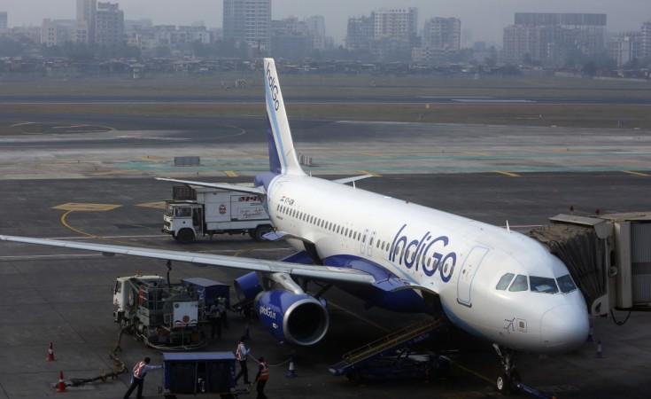 Indigo Airlines pilots exit