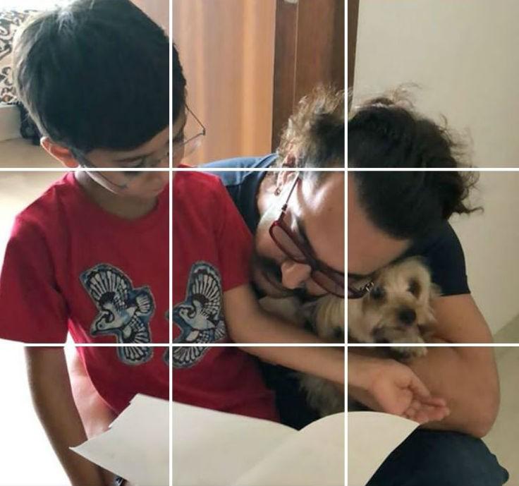 Aamir Khan,actor Aamir Khan,Aamir Khan Instagram,Aamir Khan instagram post,Aamir Khan Instagram pics,Aamir Khan Instagram images,Azad rao,Azad Rao Khan,Aamir Khan son