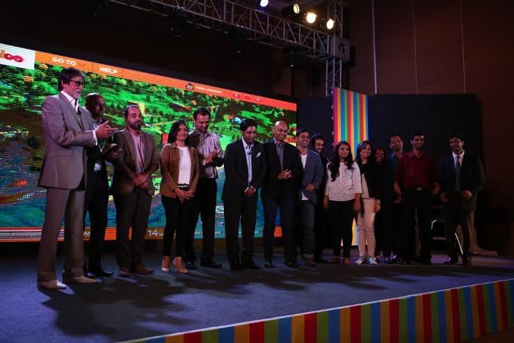 Amitabh Bachchan,Amitabh Bachchan unveils online ecosystem for children,ecosystem for children,actor Amitabh Bachchan,Amitabh Bachchan unveils Worldoo.com,Big B unveils online ecosystem for children,Ecosystem for children