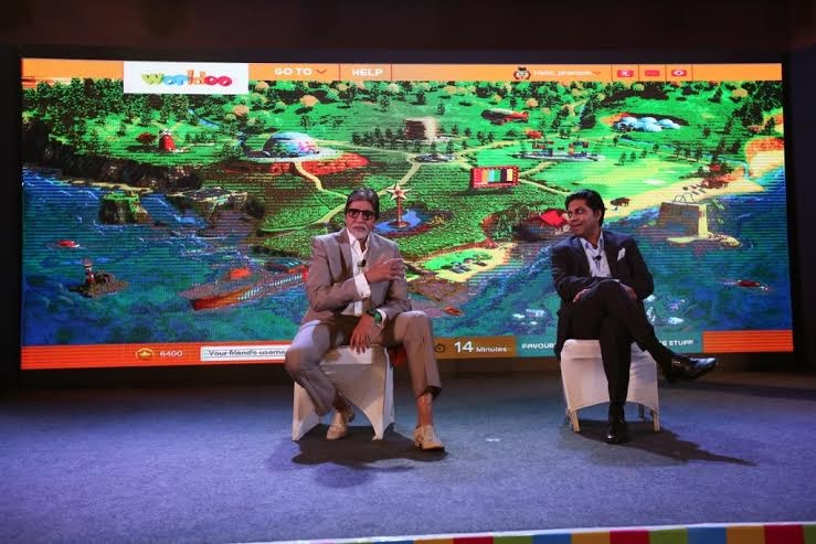 Amitabh Bachchan,Amitabh Bachchan unveils online ecosystem for children,ecosystem for children,actor Amitabh Bachchan,Amitabh Bachchan unveils Worldoo.com,Big B unveils online ecosystem for children,Ecosystem for children